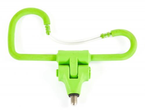 Plastic rod holder